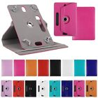 """Folding Folio 360° Leather Case Cover For Universal Tablet PC 7"""" 8"""" 9"""" 10"""" 10.1"""""""