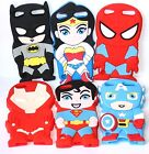 For iPod Touch 5th & 6th Gen - Soft Silicone Rubber Cover Skin Case Super Heroes