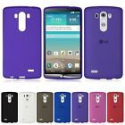 Ultra Thin Matte Frosted Flexible Soft TPU Gel Back Case Cover Skin for LG G4 G3