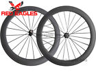 23mm width U Shape 60mm Clincher carbon road wheelset Basalt braking surface