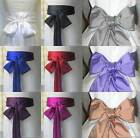 "2.7""x109"" WEDDING BOW BAND TIE SCARF FANCY DRESS BRIDESMAID PROM SATIN SASH BELT"