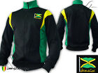 Rasta Jacket Jacke Reggae Jamaica Flag Freedom Peace & Love Jah Star Polyester