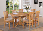 Vancouver 5 Pieces dining table set Table with a Leaf and 4 chairs for dining