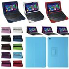 Folio PU Leather Case Cover Stand for ASUS Transformer Book T90 Chi / T100 Chi