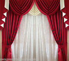 """SWAGS AND TAILS + CURTAINS, FITS 66"""" (167cm) Wide x 71"""" (180cm) FREE POST"""