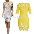 2015 Sexy Hollow Out Lace Shealth Knee Length Nightclub Dress Plus Size 2 Colors