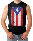 Puerto Rico Flag - Distressed Country Pride Men's SLEEVELESS T-shirt