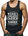 World's Greatest Farter, I Mean Father... Men's Tank Top T-shirt