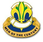 U.S. Army 100th Infantry Men of Century Window Wall Vinyl Decal Sticker Military