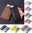 New Luxury Ultra-thin Soft PU Leather Back Case Cover For Apple iPhone 4 4S 5 5S