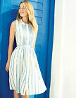 BODEN Monte Carlo Dress WH639 £110 Jasperware Blue NEW UK 10 12 14 16 18 20 22