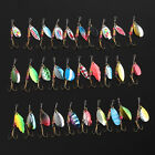 Lot 30pcs Kinds of Fishing Lures Spinner Crankbait Tackle Hooks Minnow Bass Bait
