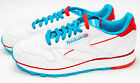Reebok CL Leather Perf White/Blue/Red Running Shoes M43138 Sz 9-12