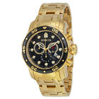 Invicta Pro Diver Scuba Chronograph Swiss Parts 18k Stainless Steel Mens Watch