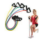 Home Fitness Workout Exercise Elastic Resistance Bands Yoga Pilates Strength