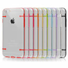 Light Up Clear Transparent Hard Back Case Cover For IPhone 4/4S/5/5S/6S/6