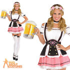 Adult Oktobermiss Costume Ladies Oktoberfest Fancy Dress Bavarian Beer Outfit