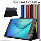 "Samsung Galaxy Tab A 9.7"" 8.0"" T550 T350 Premium Flip Leather Case Cover"