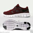 Nike Free Run 2 Mens Running Trainers Shoes Team Red/Grey