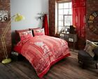 New Duvet Cover Set New York Inspire With Pillow Cases Single Double King