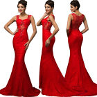 Plus Sz Long Mermaid Maxi Formal Evening Bridesmaid Cocktail Wedding Prom Dress