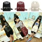 Fashion Women's Backpack Girl Casual Travel Shoulder Bag PU Leather School Bags