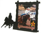 Horse Picture Frame Black Metal 14 Disciplines English Western Gaming Ranch