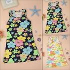 Girls Cozy Summer Vest Tank Tops Toddler Kids Stretch Vacation Beach Party Dress