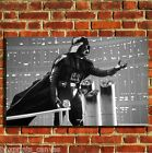 DARTH VADER STAR WARS COOL CANVAS WALL ART BOX PRINT PICTURE SMALL/MEDIUM/LARGE