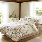 Beatrice Mulberry Duvet set by designer Janet Reger floral set includes pillo...