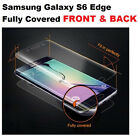 FRONT + BACK BODY SCREEN PROTECTOR BEST CURVED FIT COVER FOR SAMSUNG S6 EDGE