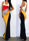 Fashion BOHO Sexy Women Summer Boho Long Maxi Party Dress Beach Dresses Sundress