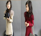 1x Gauze Collar Shawl Long Sleeve Kid Girls Dress Party Clothes 4 Sizes 2 Colors