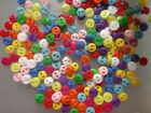 """100pc small craft resin Sewing Mini flatback clothes shirt Buttons 5mm 0.2"""" pick"""