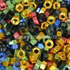 M4 x 0.7 Metric Anodized Aluminium Alloy Hex Nut - Choice Of Colour