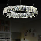 Galaxy 1 Ring Crystal Pendant Light Ceiling Lamp LED Chandelier Dining Lighting