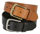 "Tommy Hilfiger - Mens Leather Casual Jean Belt, 1-1/2"" Wide"
