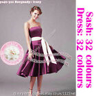 uk6 to uk26 Wedding Evening Formal Party Ball cocktail Prom Bridesmaid Dress