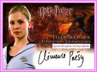 GoF Auto Fleur Delacour Barty Crouch Padma Trading Card Harry Potter Autograph