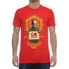 OBEY maglietta Go Campaign S M rossa red t-shirt font logo hip-hop