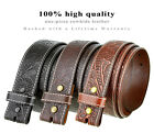 "Внешний вид - BS118 - Western Floral Engraved Tooled Solid Leather Belt Strap, 1-1/2"" Wide"
