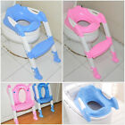 Baby Toddler Potty Safety Training Toilet Seat Chair Step w/ Adjustable Ladder