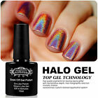 Perfect Summer Halo Gel Nail Polish Glitter Sparkle Lacquer assorted 20 Colors