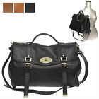WOMEN'S HANDBAG CELEBRITY ALEXA LG FLAP TOTE SHOULDER BAG REAL COWHIDE LEATHER