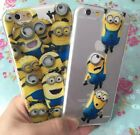 for iPhone 6+ Plus / 6S+ Plus - SOFT TPU RUBBER SILICONE SKIN CASE COVER MINIONS