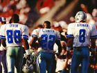 Football Dallas Cowboys Legends Michael Irvin, Emmitt Smith, Troy Aikman Photo