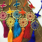Chinese Handmade Classic Various Color Knot Coin &Tassel Car/ Key/Phone charms