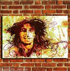 BOB MARLEY GRAFFITI COOL CANVAS WALL ART BOX PRINT PICTURE SMALL/MEDIUM/LARGE