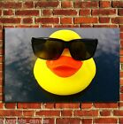 RUBBER DUCKS BATHROOM COOL CANVAS WALL ART BOX PRINT PICTURE SMALL/MEDIUM/LARGE
