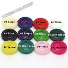 Wholesale Resin Coat Sweater Clothes Sewing Buttons 20mm 2-holes  12color U-Pick